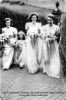 1953 PW01 Billy and Peggy Wedding Bridesmaids