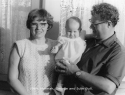 1964 George and Hannah Bull with Julie
