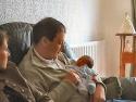 Kris with baby Jamie