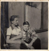 9 Barry Bracknell with Bobby Barnes 1952