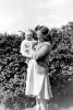 1949 Hannah holding Stephanie