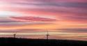 Grange Windfarm Sunset